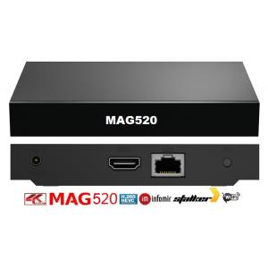 Infomir MAG520W3 IPTV SET-TOP BOX Linux 4.9, Amlogic S905X2 1 GB RAM, 4 GB eMMC Dual-Band WiFi