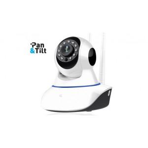 Κάμερα Ρομποτική ANGA AQ-8101IBW IP Wi Fi ONVIF 1080P 2.0 MP(Λευκή) WiFi/Ethernet