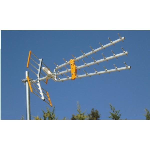 MISTRAL Triple Maxi Antenna Επίγεια Ψηφιακή Κεραία Εξωτερική UHF 0324 Επίγειες Κεραίες