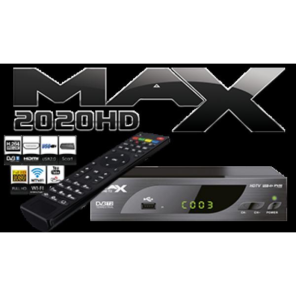 MAX T2020HD DVB-T2 MPEG4 Full HD Terrestrial & IPtv(Youtube....)