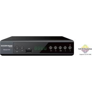 Επίγειος Δέκτης MPEG-4 Golden Media MANIA 818 T2 H.265 HEVC